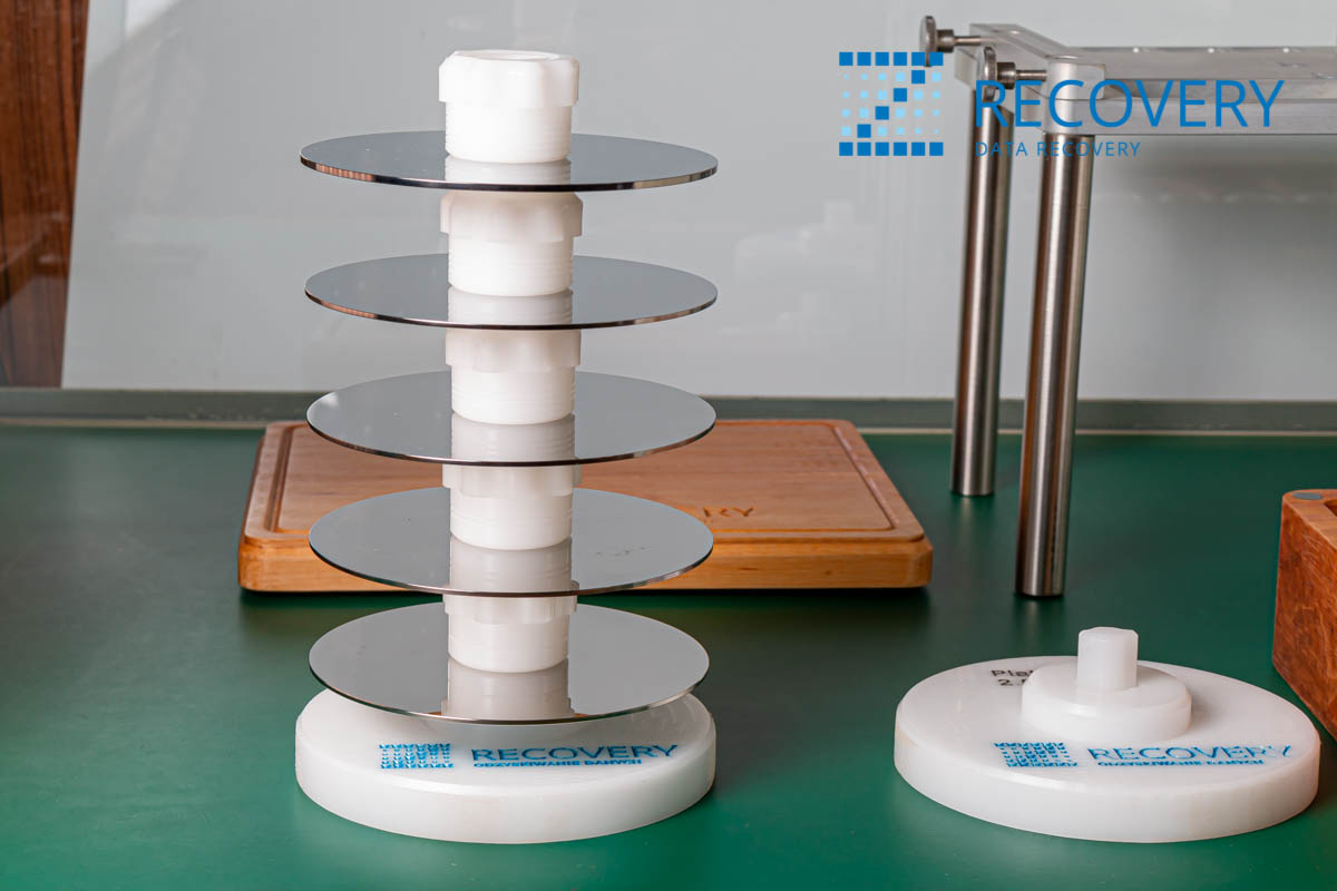 """Platter Stand for 3,5"""" hard drives"""